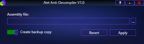 .Net Anti-Decompiler